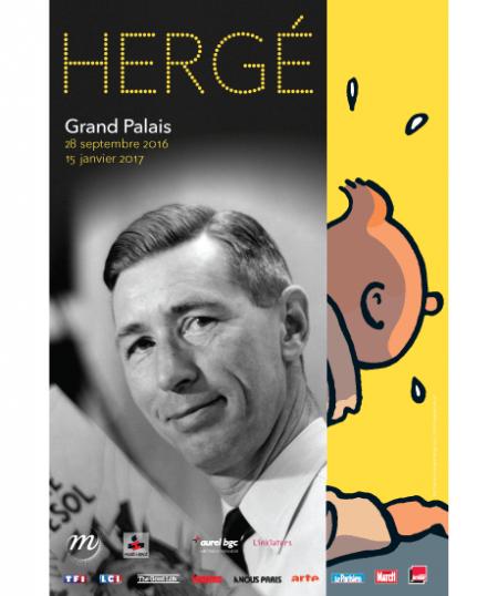 affiche exposition Hergé