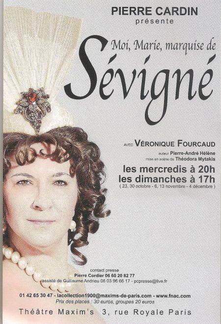 Moi, Marie, Marquise de Sévigné